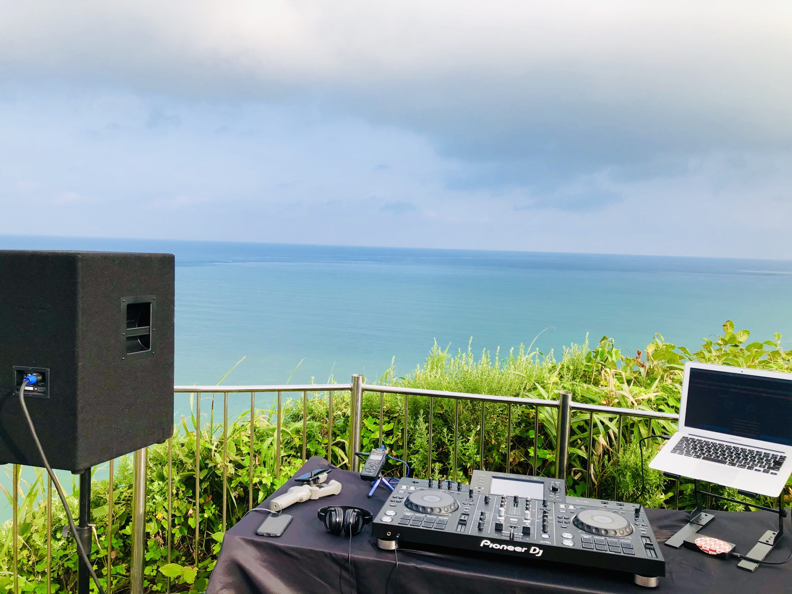 DJ イベント アウトドア 灯台 フェス DJI ドローン